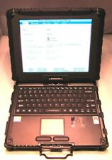 """GETAC V100 10.4"""" MULTITOUCH RUGGED NOTEBOOK, C2D-SU9400,2GB - NEEDS WORK"""