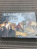 Scrabble Harry Potter Edition - Officially Licensed Family Board Game NEW Sealed