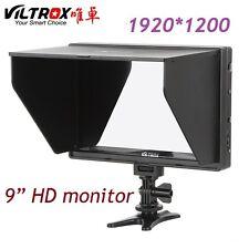 1920*1200 9'' Viltrox DC-90HD HDMI AV Camera DSLR Video LCD Full HD Monitor