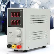0-30V 0-5A Fuente de Alimentación Regulado Laboratorio Digital DC Ajustable