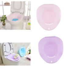 Pack of 2 Hip Massage Bath Tubs Cleansing Basin for Hemorrhoidal Patients