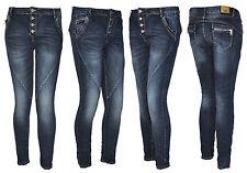 Karostar by Lexxury Boyfriend Damenjeans Hose Röhrejeans Jeans 40 42 44 46 48 50