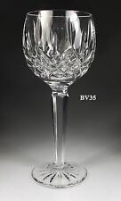 "WATERFORD CRYSTAL LISMORE HOCK WINE GOBLETS  7 1/2"" - IRELAND - PERFECT"