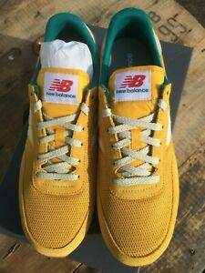 New Balance UL720 Trainers Yellow Size UK 9 Retro Runner 700 Series Gold NEW Box