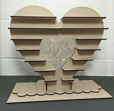 Y14 GRANDE LOVE CUORE 40x Ferrero Rocher Cioccolato Nozze Centro Display Stand