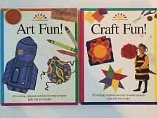 Art Fun! Craft Fun! Activities For Kids, Arts & Crafts Projects, Home or School