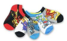 Skylanders Boys 5 Pack No-Show Socks Baby/Toddler/Little Kid Size M (6-8.5)