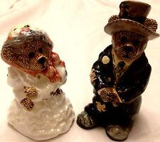 Boyds Bears Grenville & Beatrice True Love salt & pepper New #390022 Low 1E / 43