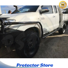 Heavy Duty Side Steps, Brush Rail Bars to suit Toyota Hilux 2005-2015 Space Cab