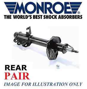 FOR MONROE REAR SHOCK ABSORBER SHOCKER SKODA OCTAVIA 1.6 2.0 1.8T 1.9 TDI SDI