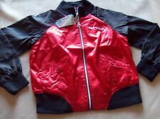 DETROIT RED WINGS NHL WOMENS SATIN JACKET NEW LARGE