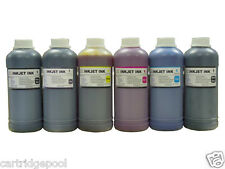 6 Pint refill Ink for HP 72 DesignJet  T610 T620 T790 T795 T770  CMY/PK/GY/MK