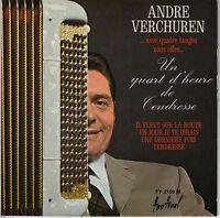 45TRS VINYL 7''/ FRENCH EP ANDRE VERCHUREN / QUATRE TANGOS