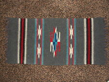 Vintage Native Indian Southwestern Wool Rug