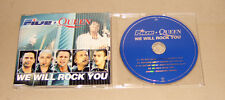 Maxi Single CD Five + Queen - We will Rock You  3.Tracks 2000 + Video  sehr gut