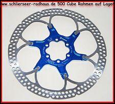 Formula R1 Brake Disc Two Piece MTB Full Suspension 160 mm Blue Disc