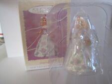 Hallmark Keepsake Ornament Collector's Series Springtime Barbie 1995 Guc