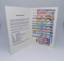 PERU 10 to 1000000 Intis ( 11 Pcs Full Set ) 1987 -1990 Bank Issued Folder Unc