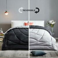 SLEEP ZONE All Season Comforter Down Alternative Soft Temperature Regulation Rev