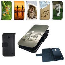 Book Tasche für Handy Design Hülle Case Cover Schutzhülle Etui Bumper Motiv