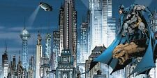 DC Comics: Gotham City Skyline Fertig-Bild 50x100 Wandbild Batman