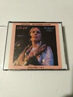 KATE WOLF Give Yourself To Love  LIVE 2-CD Set oop