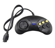 Sega Mega Drive-Genesis Master System 6 Botón Controlador Pad de juego de lucha