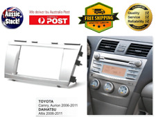 Fascia facia Toyota Camry Aurion 173mm Double Two 2 DIN Dash Kit