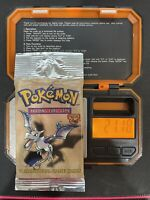 Pokemon Fossil Booster Pack Areodactyl WOTC 1999 Factory Sealed HEAVY 21.18 Gram
