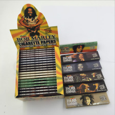 Bob Marley Extra Long Leaves Pure Hemp Cigarette Rolling Joint Papers 50 Booklet