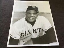 1960s original 8x10 photo Willie Mays Ny Giants