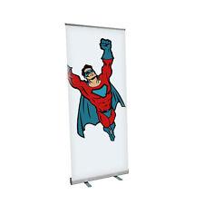 Rollup-Display mit Druck, Banner Display 85x200cm mit Druck, mit Tragetasche Eco
