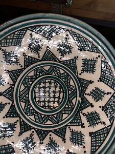 Vintage Morroccan Safi Handmade Bowl