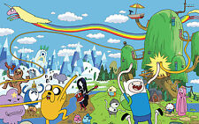 A3/A4 Size - ADVENTURE TIME WITH FINN & JAKE TV SERIES ART PRINT POSTER  # 26