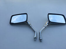 BRAND NEW CHROME E-MARKED RECTANGULAR Mirrors FOR HONDA VT 125 SHADOW 99-04