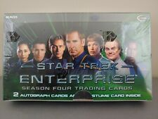 STAR TREK ENTERPRISE SEASON 4 FACTORY SEALED BOX PLUS SELL-SHEET & P1 PROMO