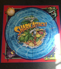 SHARK ATTACK Replacement Game Board Only By Patch Games 2010