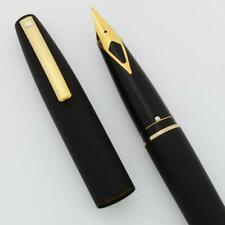 Sheaffer Imperial 787 Fountain Pen ('88) - Matte Black w GT, Fine (New in Box)