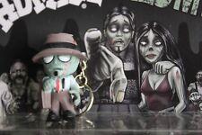 "Big Head Homies - HOMIE ZOMBIES Keychain Zipper Pull  figure ""CHUCO"" -  1 3/4"""