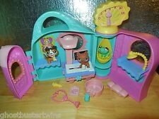 LITTLEST PET SHOP GET FEEL BETTER MEDICAL X-RAY CENTER OFFICE HOUSE PLAY SET LOT