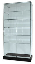 Glass Display Cabinet on Castors - Flat Packed