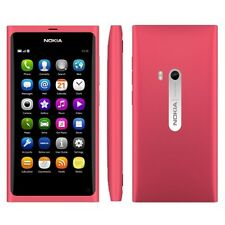 Nokia n9-00 Rosa 16gb (Senza SIM-lock) Smartphone GPS 3g 8mp WLAN ORIGINALE TOP