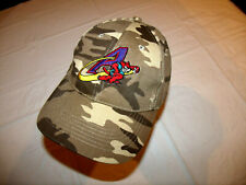 Akron Aeros MiLB Camo Camoflage Hat 100% Cotton Adjustable Strap Rubberducks