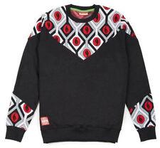 Sweat-Shirt Pull Coton Automne Chaud Lobaster Deep Crewneck Homme Casual Noir S