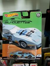 '76 Greenwood Corvette * HOT WHEELS Silhouettes Car Culture Real Riders
