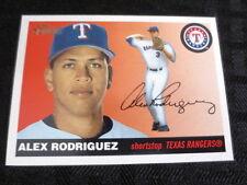 2004 Topps Heritage SP #100 Alex Rodriguez Rangers