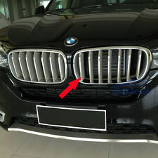 Stainless Steel Front Grill Grille Cover Trim For BMW X5 2014 2015 2016 2017