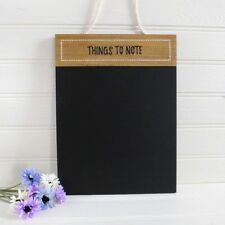 Shabby Rustic Chic Style THINGS TO NOTE Chalkboard Memo Board 40cm