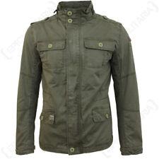 BRANDIT BRITANNIA Veste - Olive - Manteau vert militaire capuche