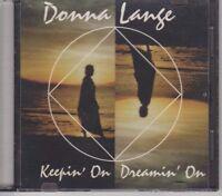 Donna Lange - Keepin' On Dreamin' On - Music CD - LIKE NEW - 1tm